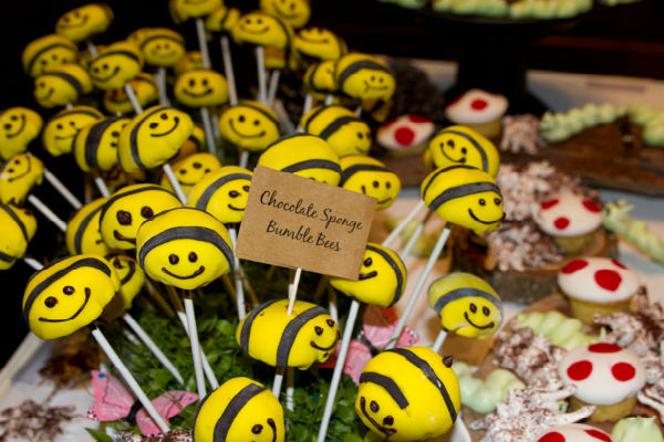 Bumble Bee Chocolate Sponges