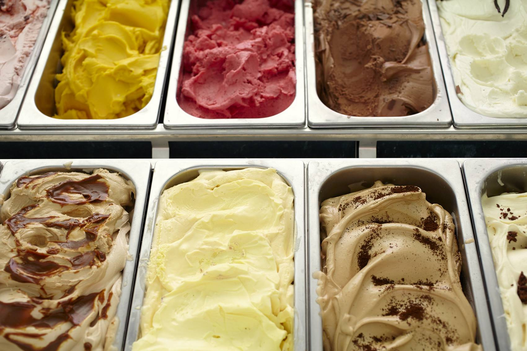 Mrs Jones The Baker's award winning gelato made in-house