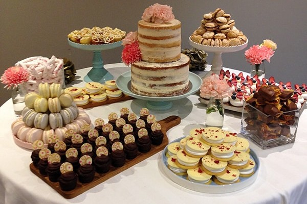 Great food ideas for a baby shower