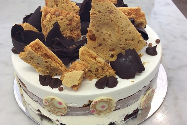Mrs Jones The Baker Chocolate and Butter Cream Honeycomb Cake